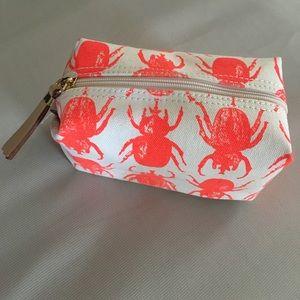 India hicks Flamingo Beetle makeup bag.